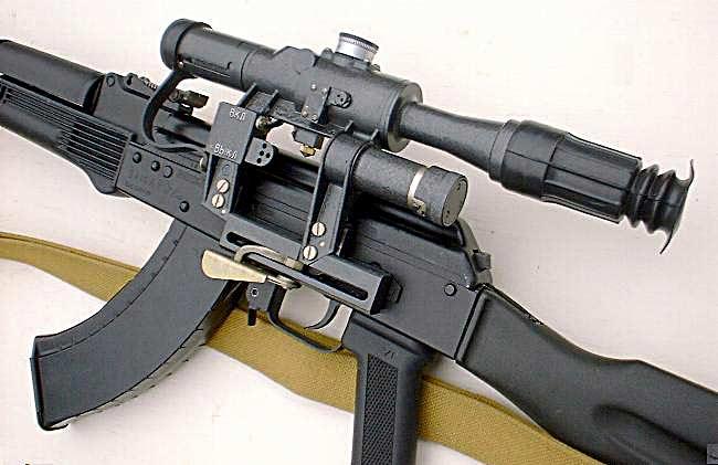 Как и АКМ, АК-74 послужил